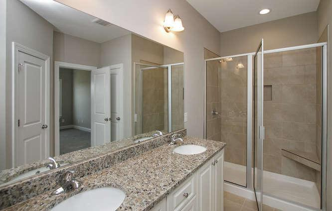 Bathroom featured in the 1575 Plan By Ivey Residential in Augusta, GA