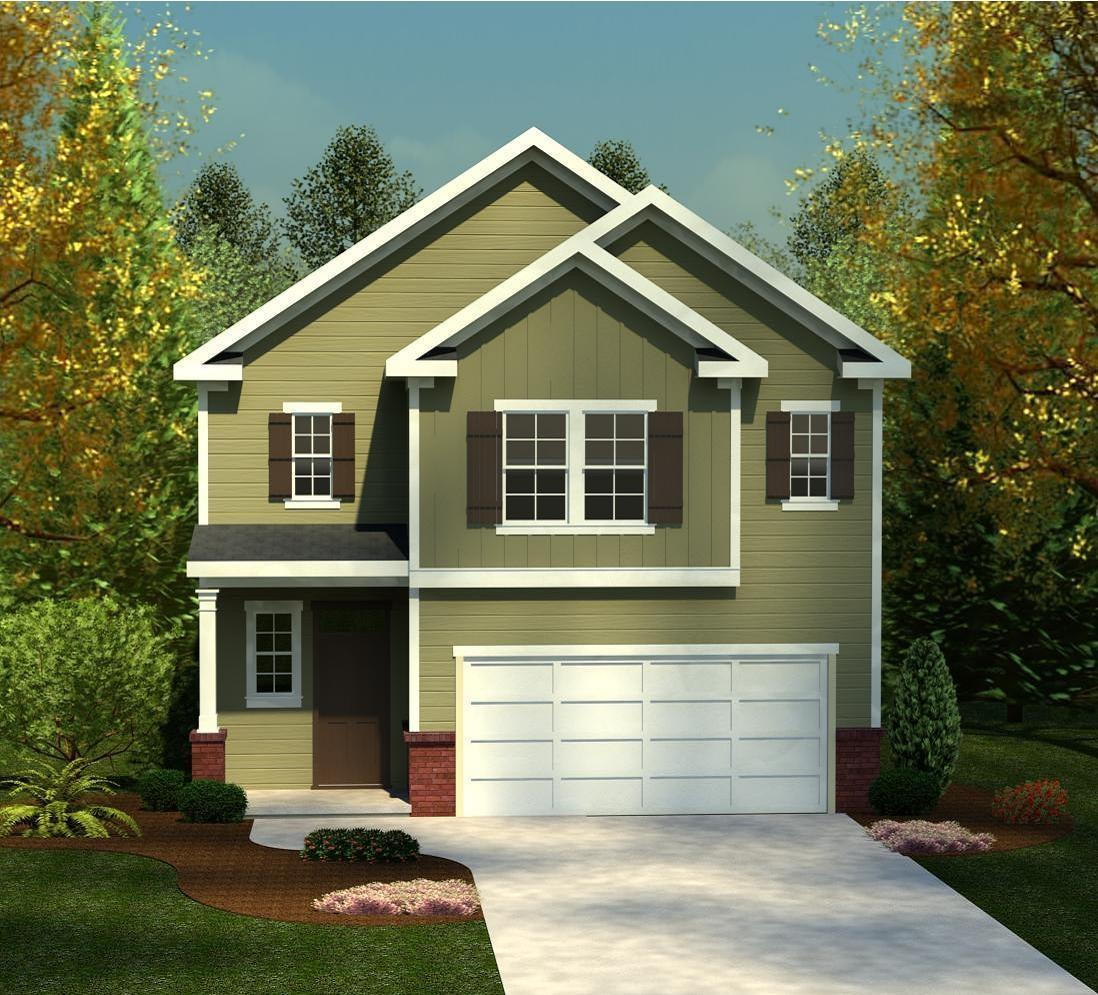 Exterior featured in the 1772 Plan By Ivey Residential in Augusta, SC