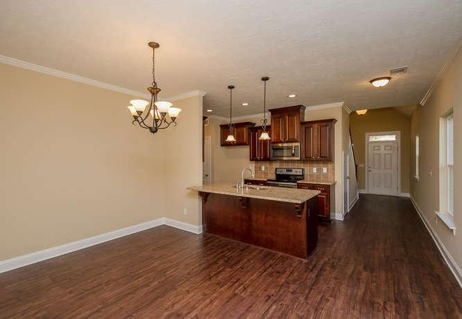 Kitchen featured in the 1800 Plan By Ivey Residential in Augusta, GA