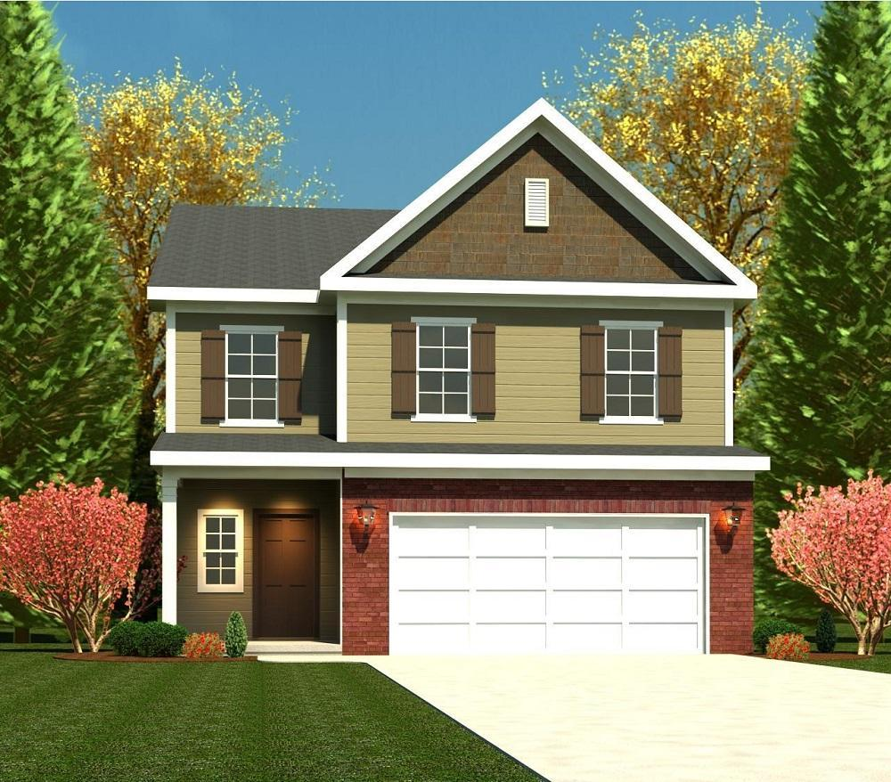Exterior featured in the 2095 Plan By Ivey Residential in Augusta, SC