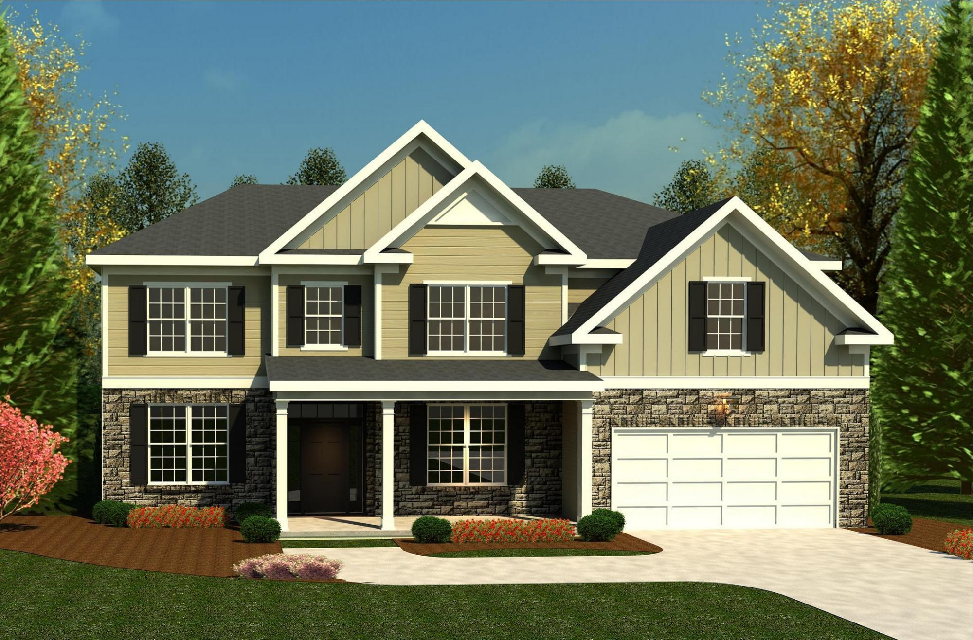 Exterior featured in the Ashworth VI By Ivey Residential in Augusta, GA