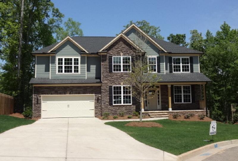 Exterior featured in the Oglethorpe II By Ivey Residential in Augusta, GA