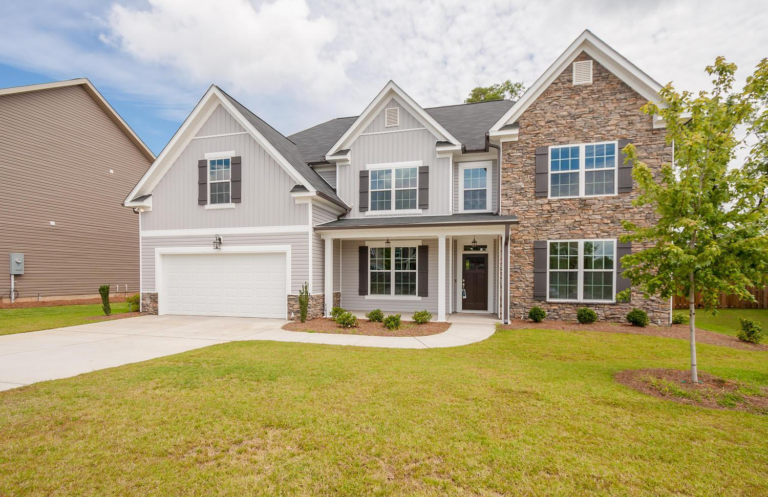 Exterior featured in the Springfield V By Ivey Residential in Augusta, GA