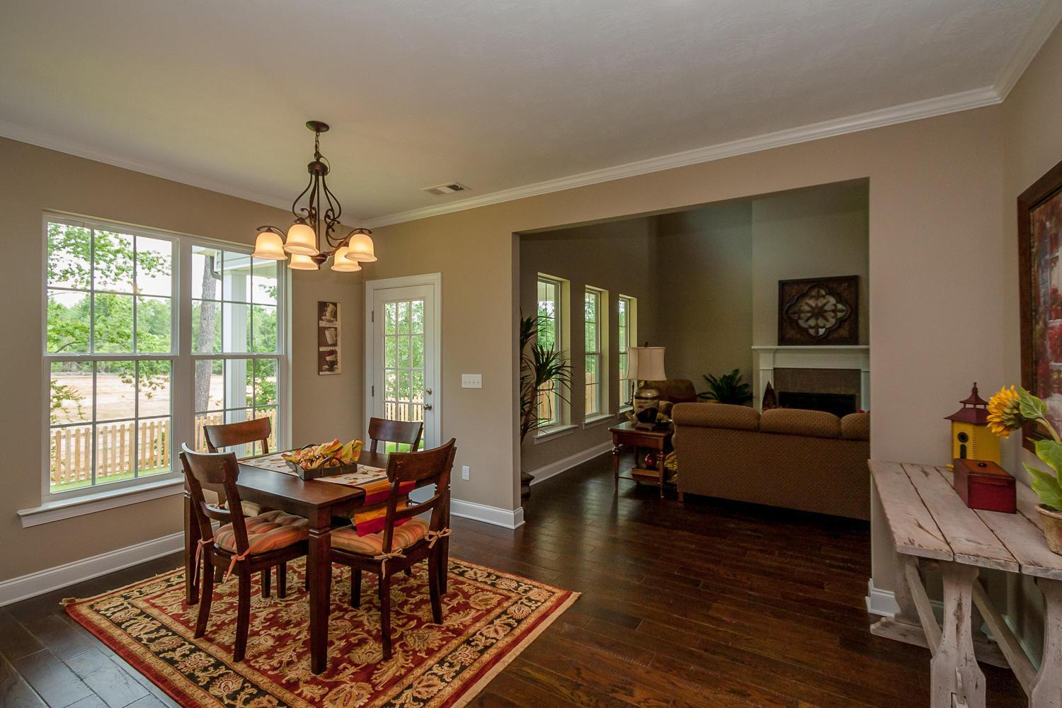 Kitchen featured in the Springfield V By Ivey Residential in Augusta, GA