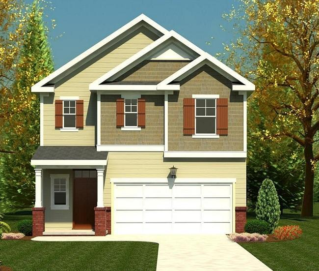 Exterior featured in the 1807 Plan By Ivey Residential in Augusta, GA