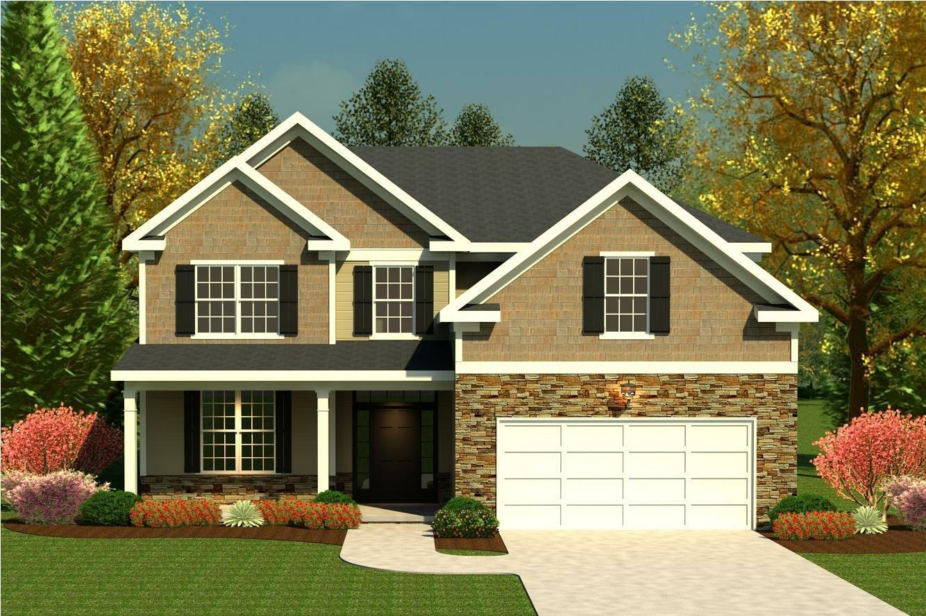 Exterior featured in the Dublin II By Ivey Residential in Augusta, GA