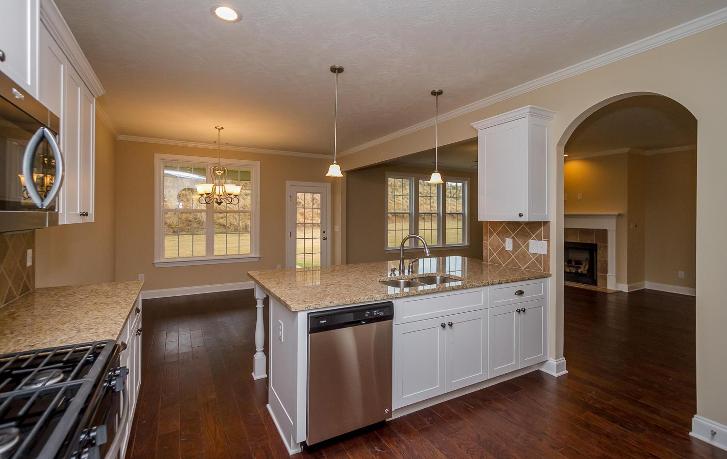 Kitchen featured in the Dublin II By Ivey Residential in Augusta, GA