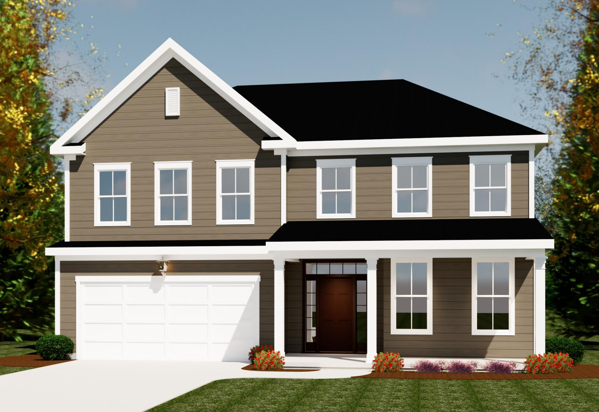 Exterior featured in the Mill Creek By Ivey Residential in Augusta, GA