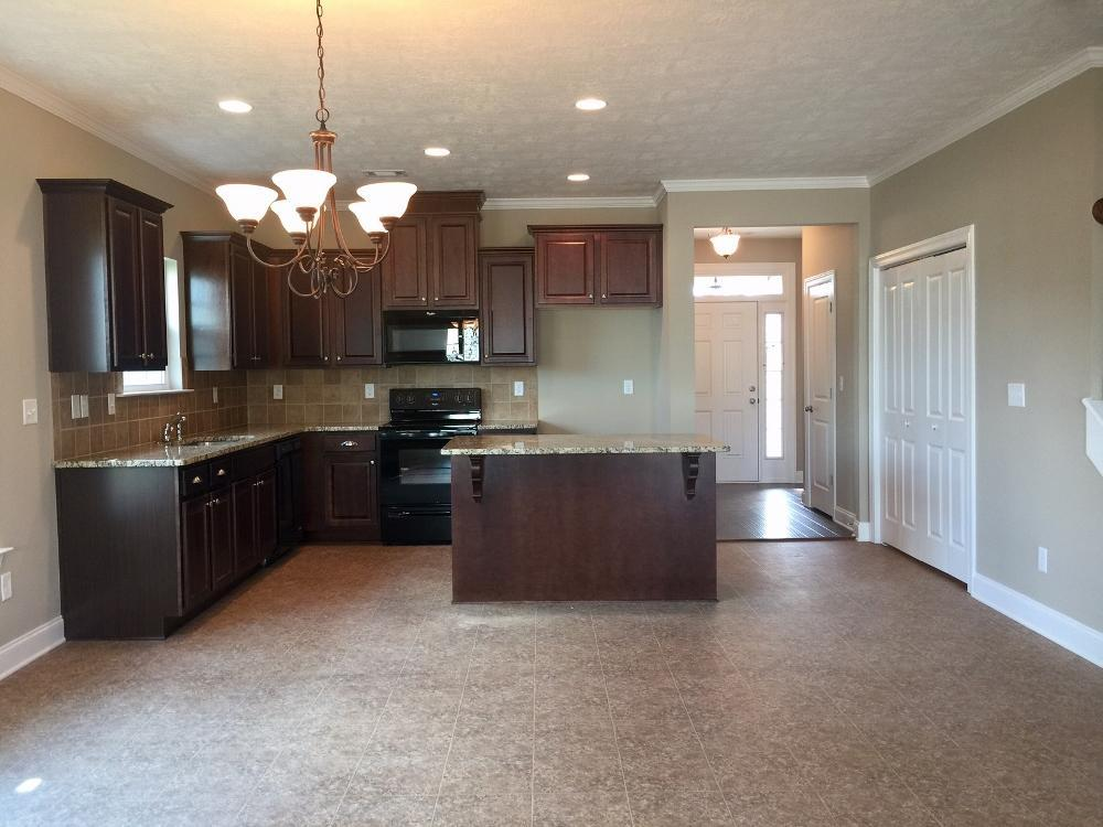 Kitchen featured in the 1570 Plan By Ivey Residential in Augusta, GA