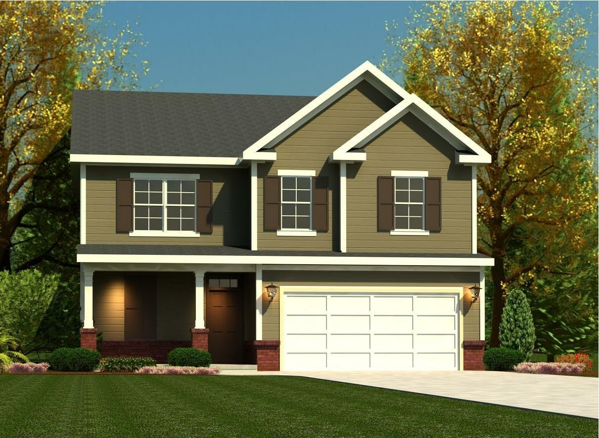 Exterior featured in the Ridgeway II By Ivey Residential in Augusta, GA