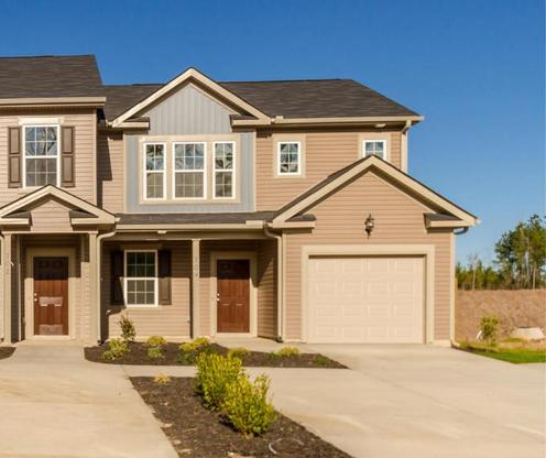 Exterior:Right Side Garage Elevation A