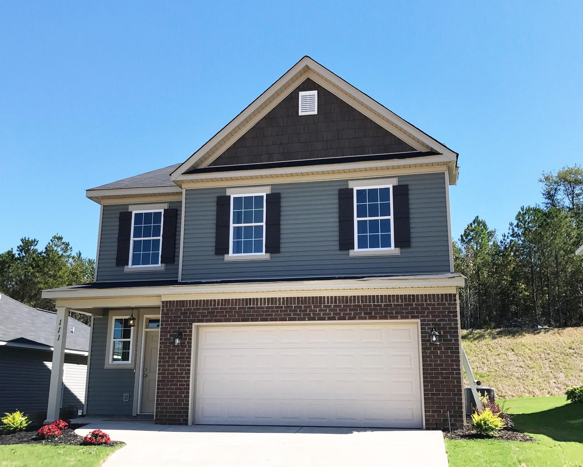 Exterior featured in the 2095 Plan By Ivey Residential in Augusta, GA