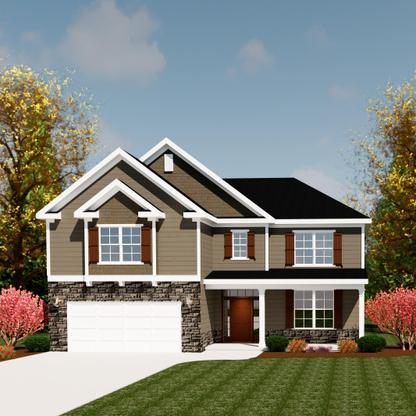 Exterior:3218 Townsend II B Ivey Residential Rendering