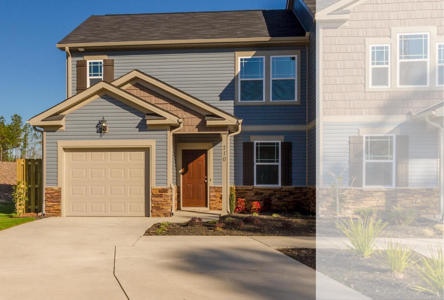 Exterior featured in the Brighton Woods 3 Bedroom Townhome By Ivey Residential in Augusta, GA