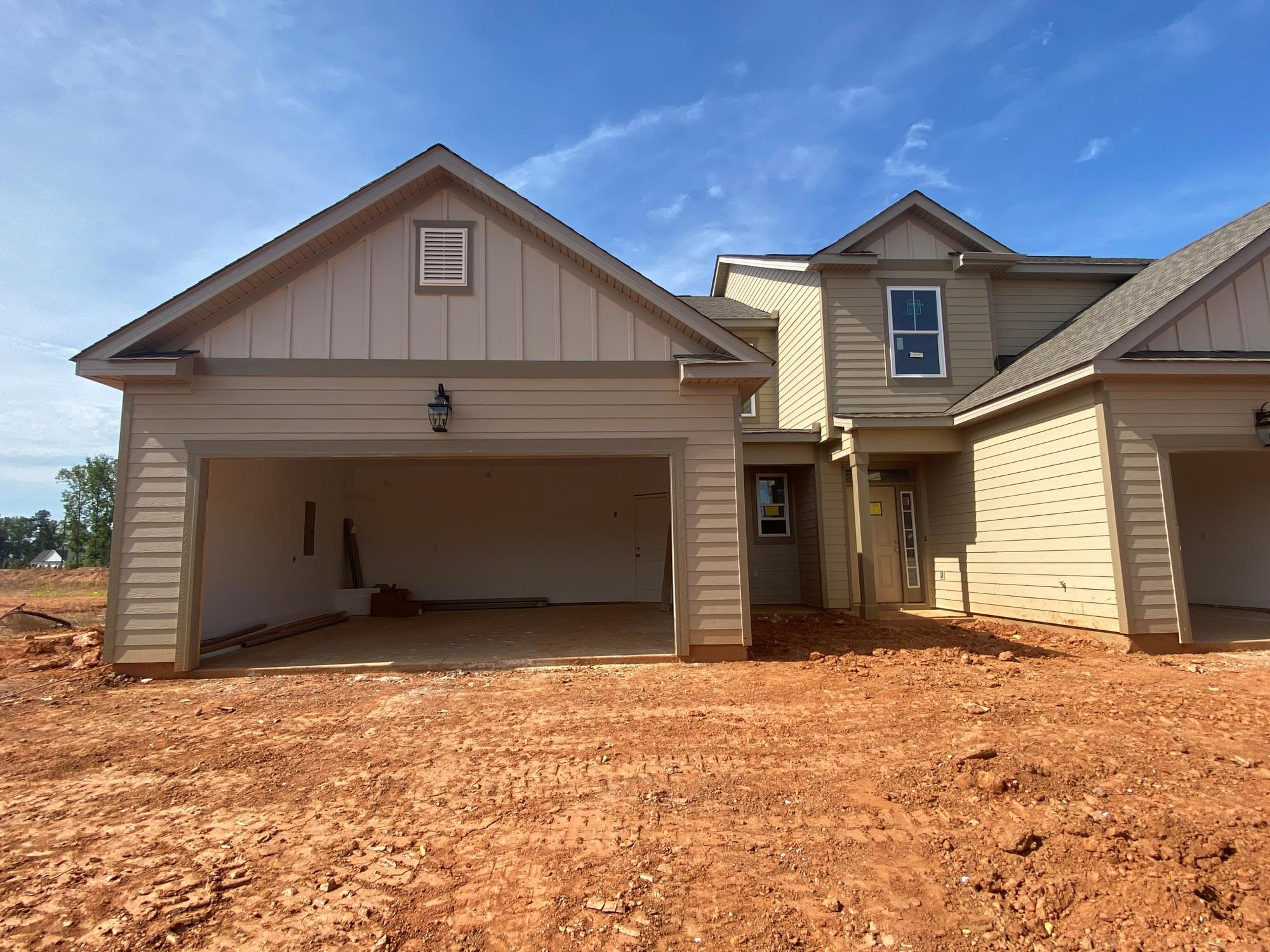 Exterior featured in the Emerson 4 Bedroom Townhome By Ivey Residential in Augusta, GA