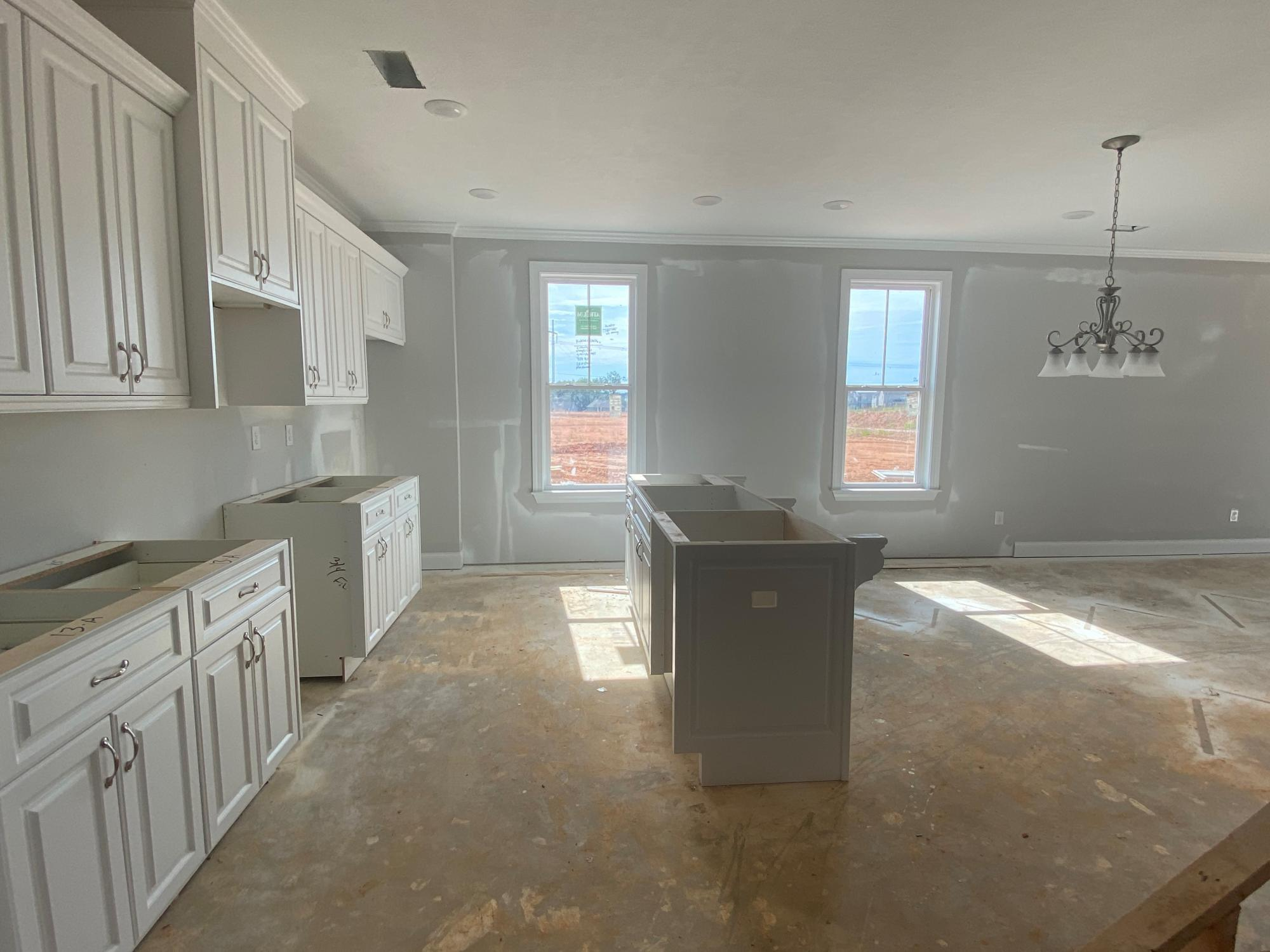 Kitchen featured in the Emerson 4 Bedroom Townhome By Ivey Residential in Augusta, GA