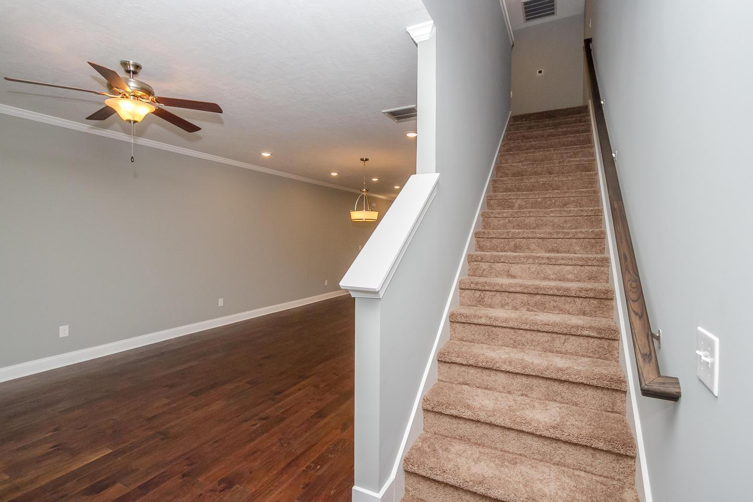 Living Area featured in the Emerson 2 Bedroom Townhome By Ivey Residential in Augusta, GA