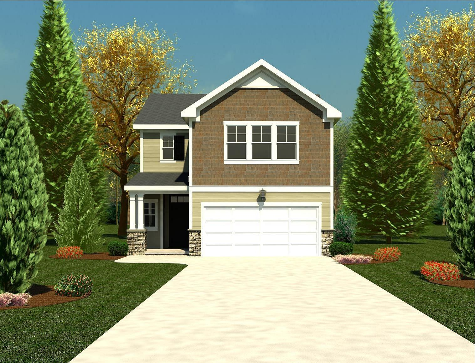 Exterior featured in the 1797 Plan By Ivey Residential in Augusta, GA