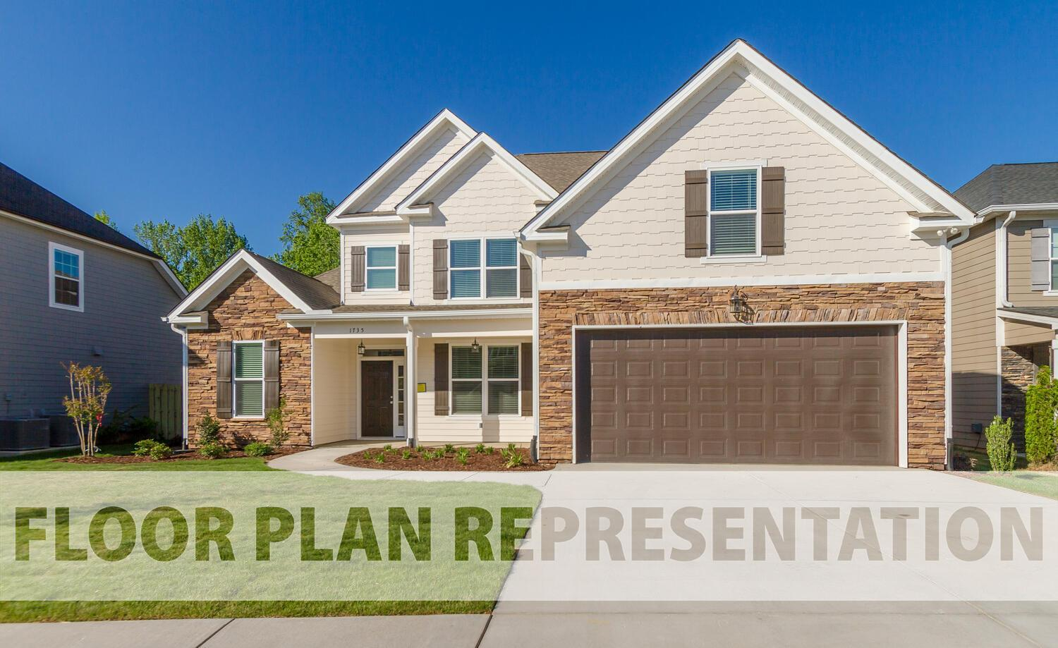 Exterior featured in the Belmont Springs III By Ivey Residential in Augusta, GA