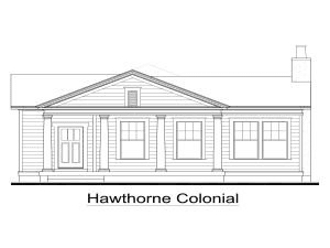 Exterior:Hawthorne Colonial