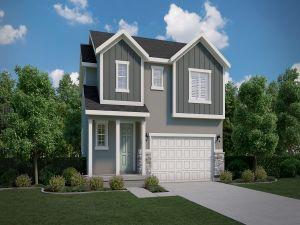 Parksdale - Overland Cottages: Eagle Mountain, Utah - Ivory Homes