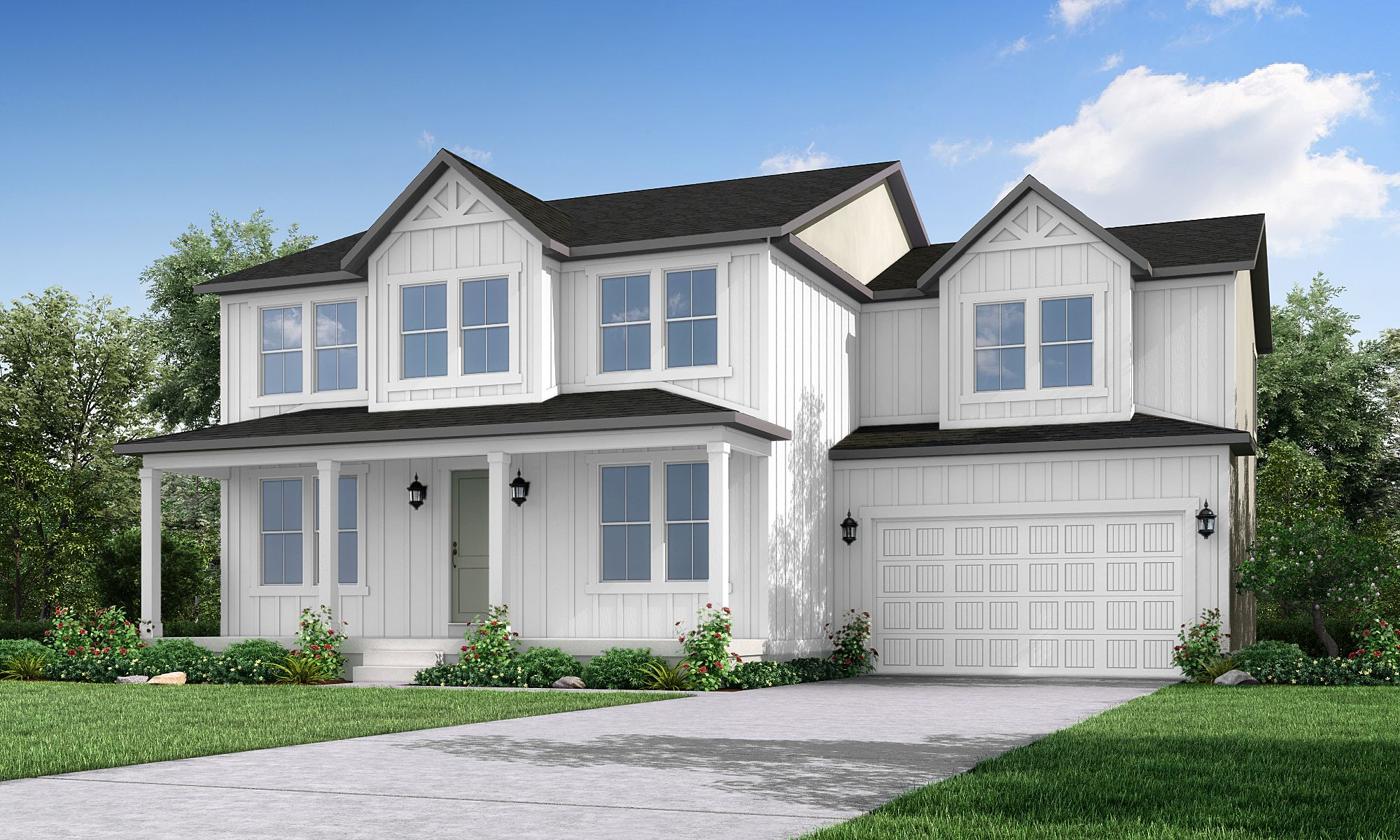 Exterior featured in the 3000 Farmhouse By Ivory Homes in Salt Lake City-Ogden, UT