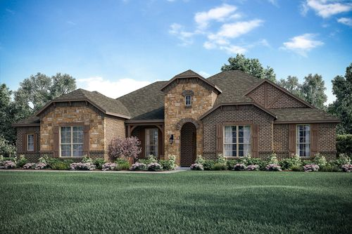Colonial Style Home Exterior Design Available in Dallas Ft. Worth Waco Area