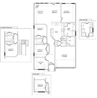 New Home Floor Plan (Joshua C) Available at John Houston Custom Homes