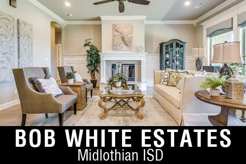 New Homes for Sale in Bob White Estates | Waxahachie, TX Home Builder