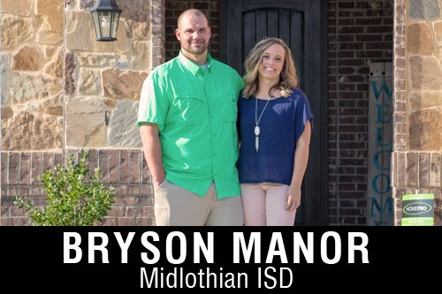 New Homes for Sale in Bryson Manor   Ovilla, TX Home Builder