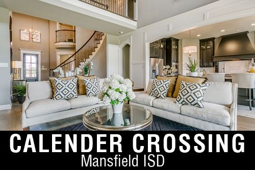 New Homes for Sale in Calender Crossing | Arlington, TX Home Builder