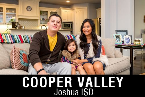 New Homes for Sale in Cooper Valley | Joshua, TX Home Builder