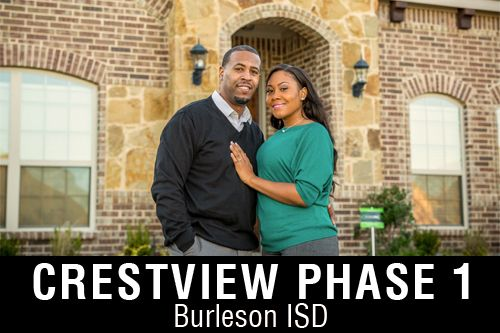 New Homes for Sale in Crestview | Crowley, TX Home Builder