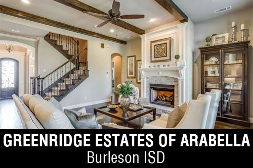 New Homes for Sale in Greenridge Estates Of Arabella   Burleson, TX Home Builder