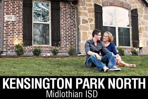 New Homes for Sale in Kensington Park North | Midlothian, TX Home Builder