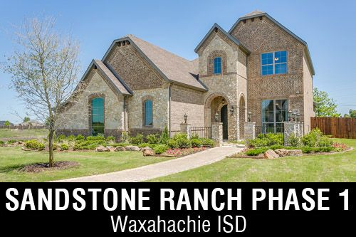 New Homes for Sale in Sandstone Ranch | Waxahachie, TX Home Builder