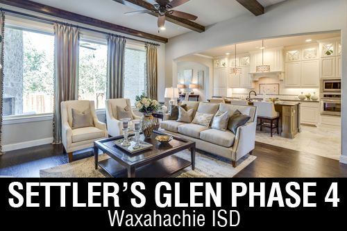 New Homes for Sale in Settler's Glen | Waxahachie, TX Home Builder