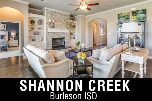 New Homes for Sale in Shannon Creek | Burleson, TX Home Builder