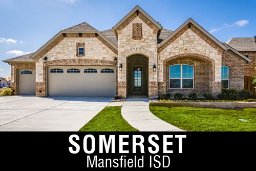 New Homes for Sale in Somerset | Mansfield, TX Home Builder
