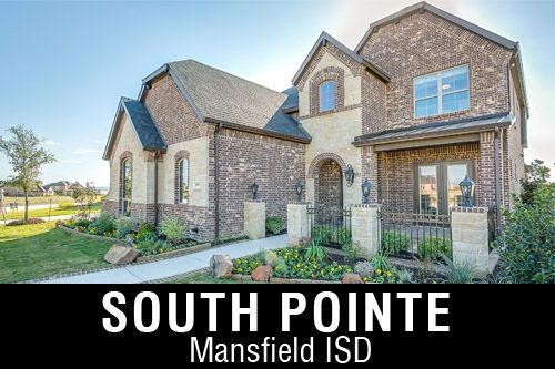 New Homes for Sale in South Pointe | Mansfield, TX Home Builder