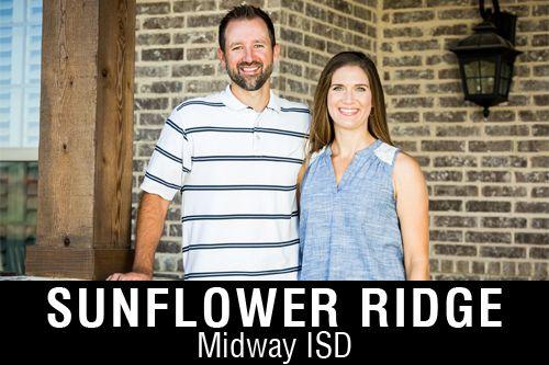 New Homes for Sale in Sunflower Ridge   Hewitt, TX Home Builder