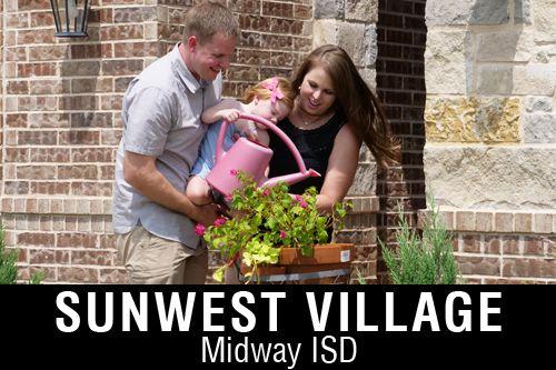 New Homes for Sale in Sunwest Village   McGregor, TX Home Builder