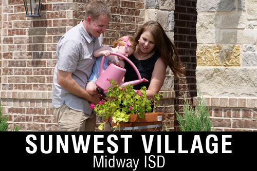 New Homes for Sale in Sunwest Village | McGregor, TX Home Builder