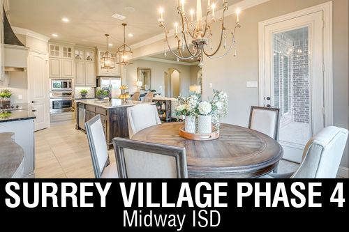New Homes for Sale in Surrey Village | Robinson, TX Home Builder
