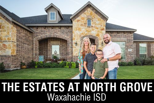 New Homes for Sale in The Estates of North Grove   Waxahachie, TX Home Builder