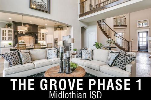 New Homes for Sale in The Grove | Midlothian, TX Home Builder