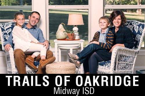 New Homes for Sale in Trails of Oakridge | McGregor, TX Home Builder