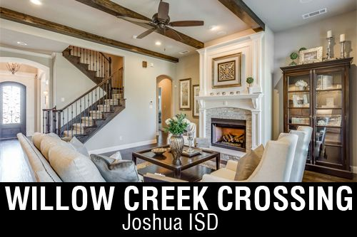 New Homes for Sale in Willow Creek Crossing | Burleson, TX Home Builder