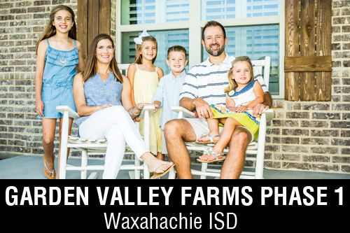 New Homes for Sale in Garden Valley Farms | Waxahachie, TX Home Builder