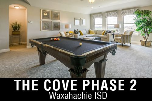 New Homes for Sale in The Cove   Waxahachie, TX Home Builder